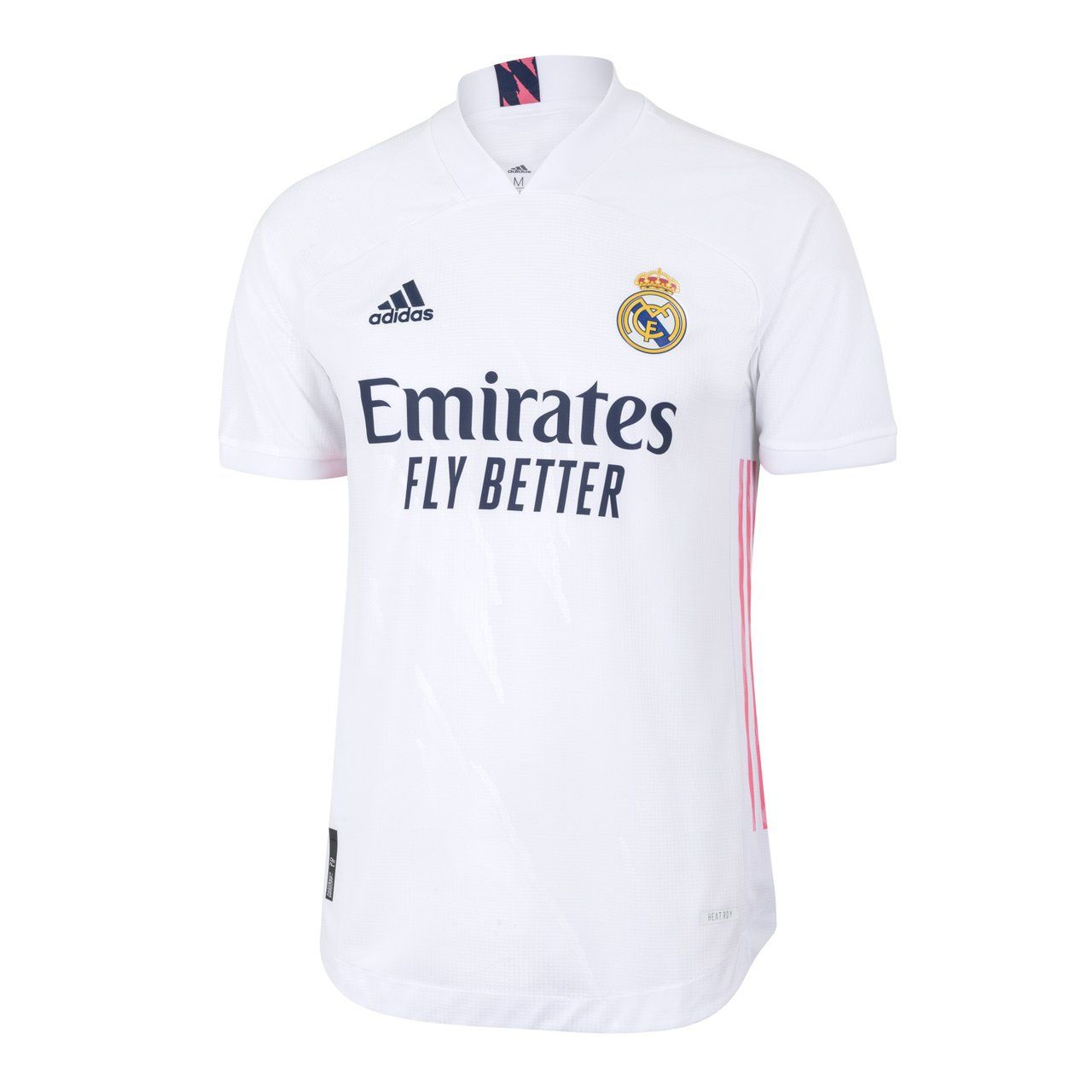 Mens Real Madrid Home Authentic Shirt 20 21 In 2020 Real Madrid Madrid Real Madrid Crest