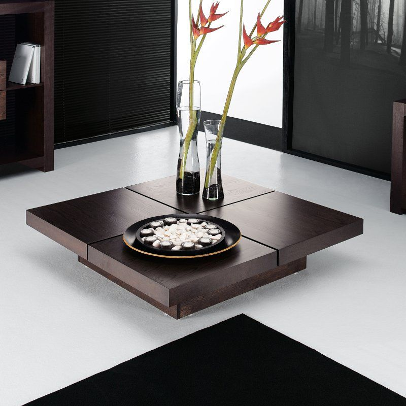Kyoto 4-Square Coffee Table -a bit of Zen Wood works to be made