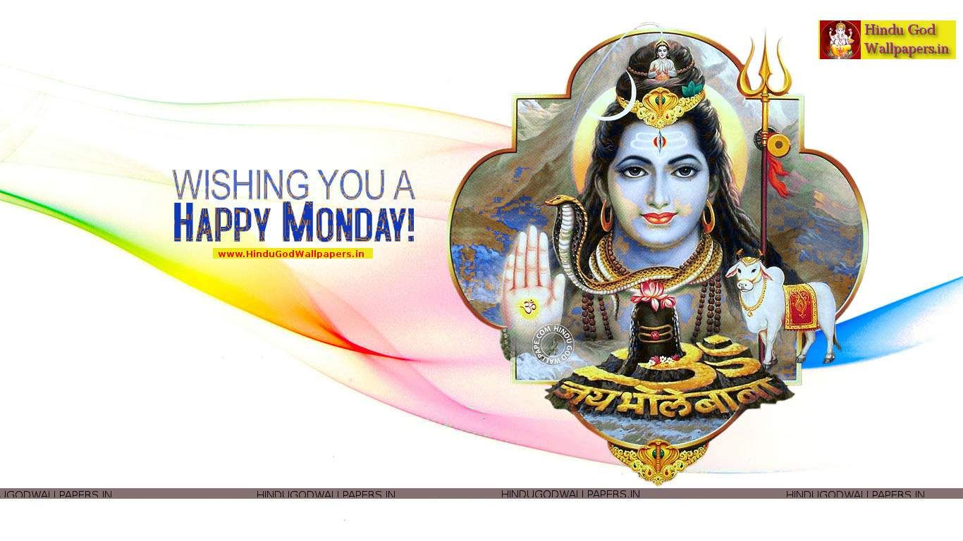 Happy Monday Pictures Free Download Hindu God Wallpapers Happy Monday Pictures Happy Monday Happy Monday Images