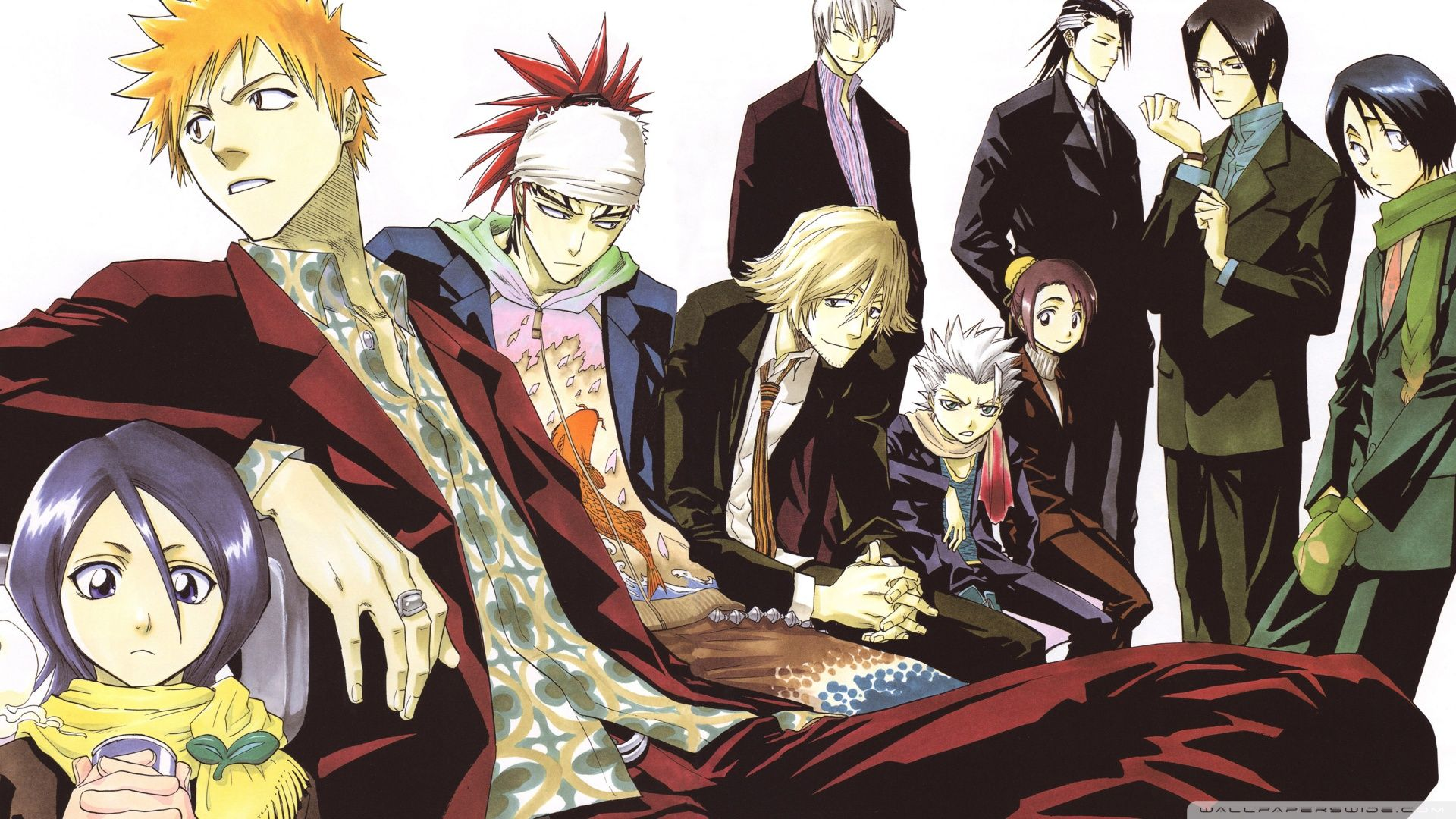Bleach Characters Names in English Pictures List Bleach