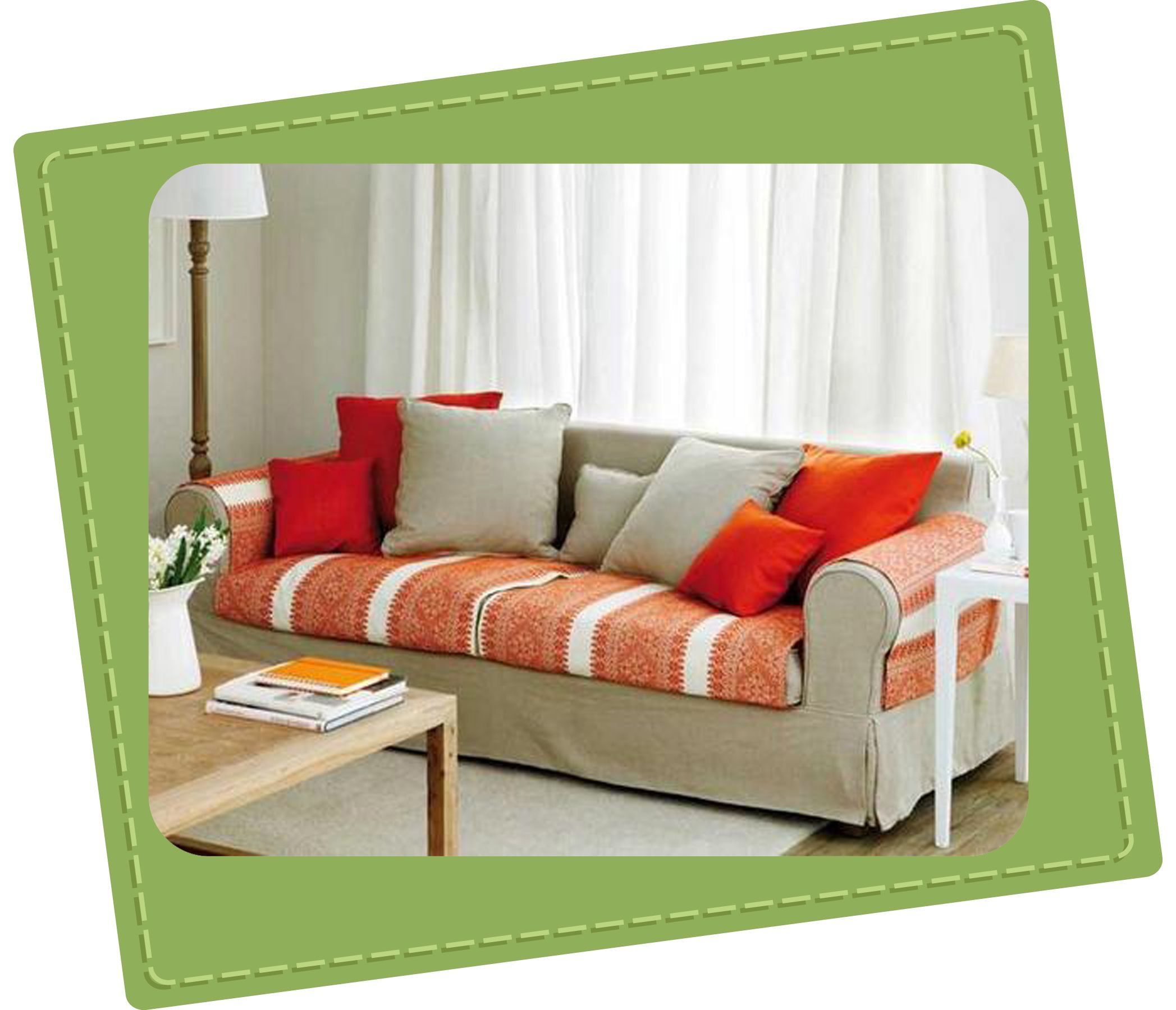 Como hacer una funda de sofa chaise longue cheap - Fundas de sofa con cheslong ...