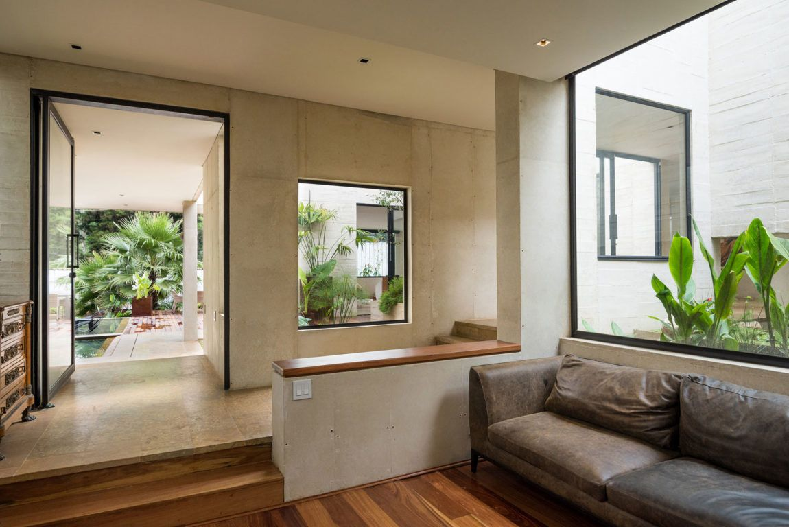 A Garden House Designed By The Firm Connatural In Medellin  # Muebles Lula Medellin