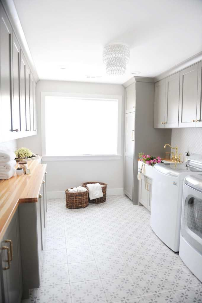 Design Laundry Room Online: Rooms We Love- Blogger Home Tour