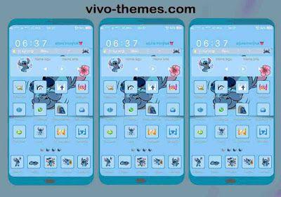 Stitch Fix ipo Theme For Vivo Android Smartphone