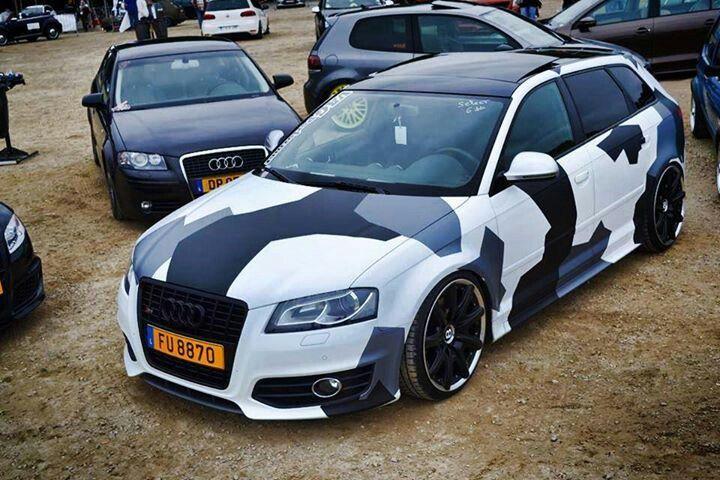 Urban camo Audi | Camo car, Camo truck