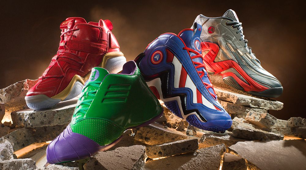Marvel Avengers adidas Basketball Sneakers | Sole Collector