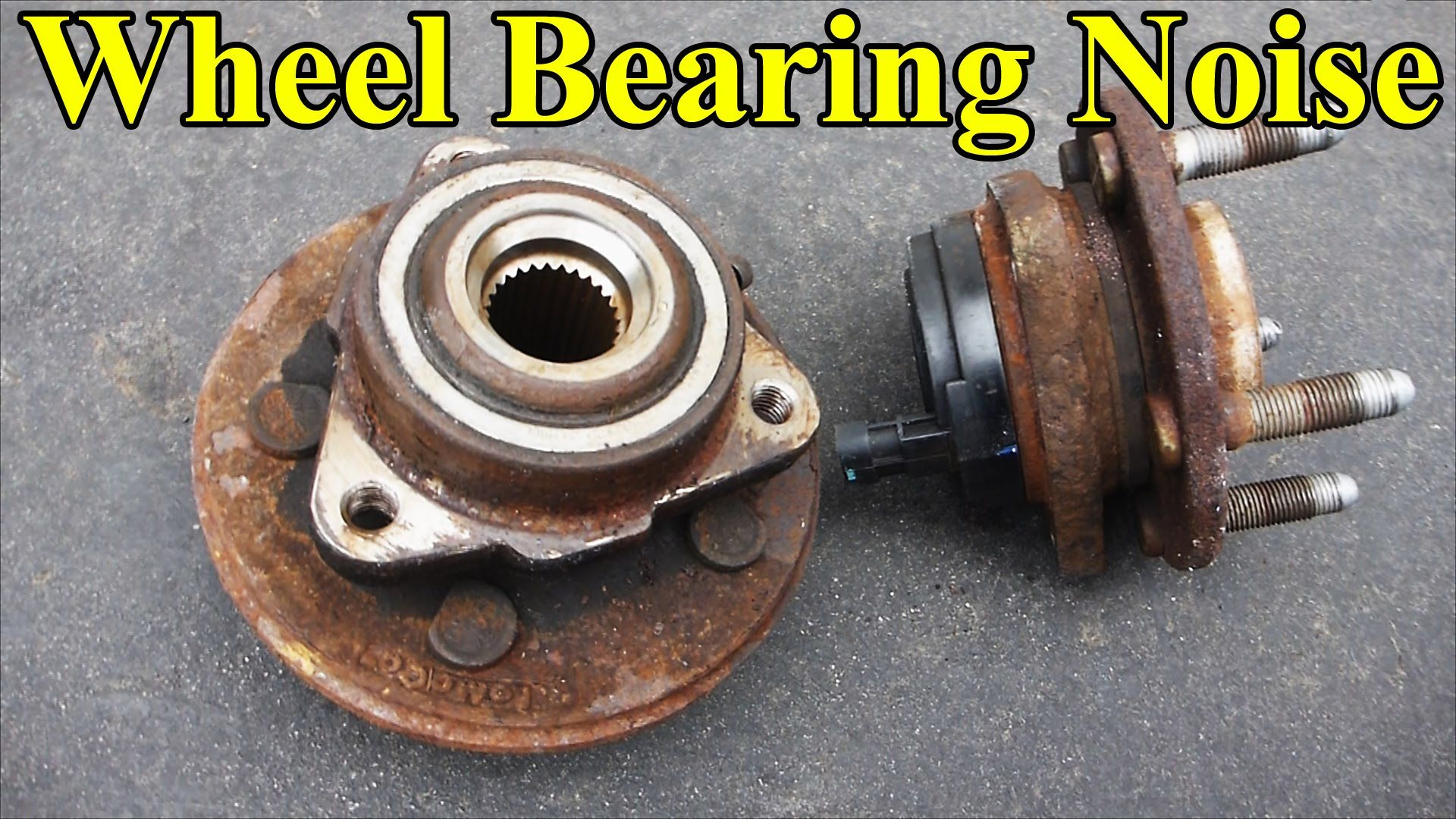 how to check a wheel bearing  sound  play in the wheel