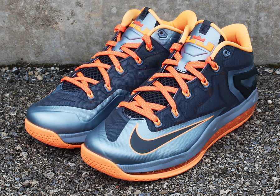"""Nike LeBron 11 Low """"Lava"""" Arriving at Retailers"""