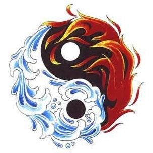 Best yin and yang tattoo designs our top 10 tattoo for Fire and ice tattoo shop