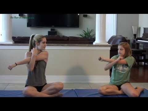 how to do shoulder stands for dance and gymnastics