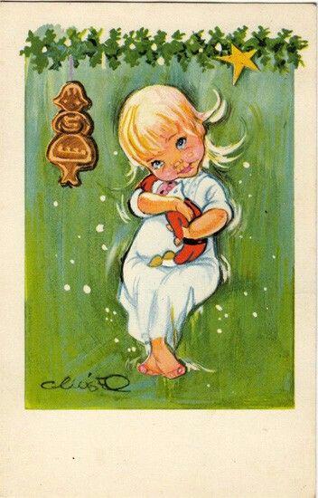 Christel Illustration Tegninger Malerier