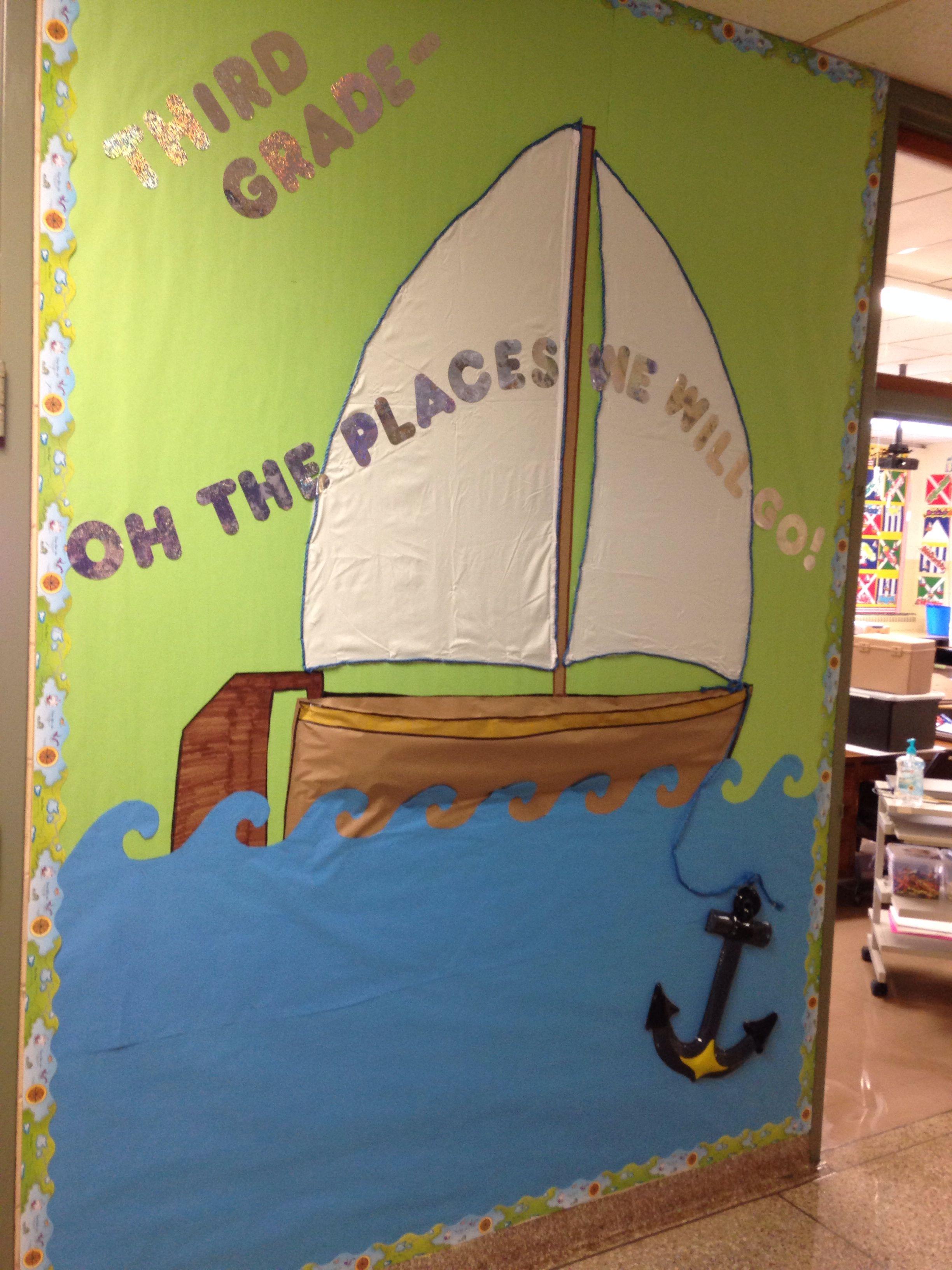 Nautical Classroom Bulletin Board