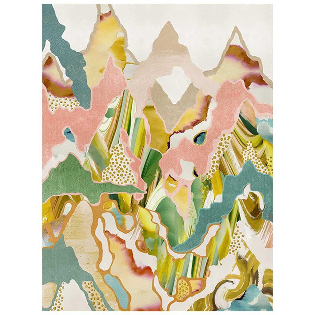 Candy Peaks Art Print | leftbank art | Pinterest | Canadian artists ...