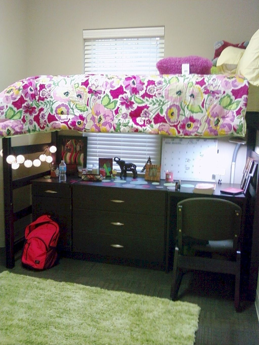 College loft bed ideas   cute loft beds college dorm room design ideas for girl
