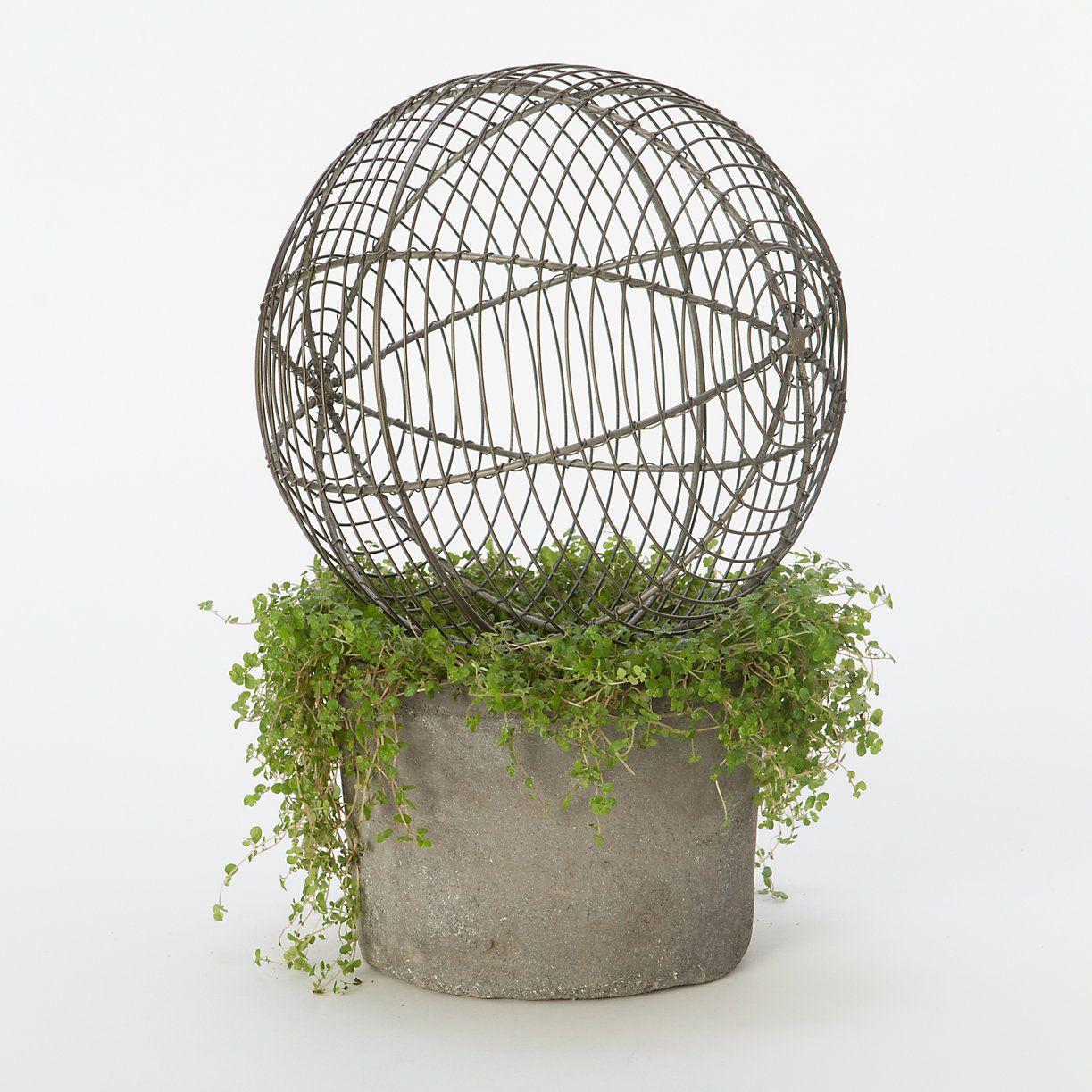 Terrain Wire Garden Sphere Large Shopterrain 8 Size Now 19 95