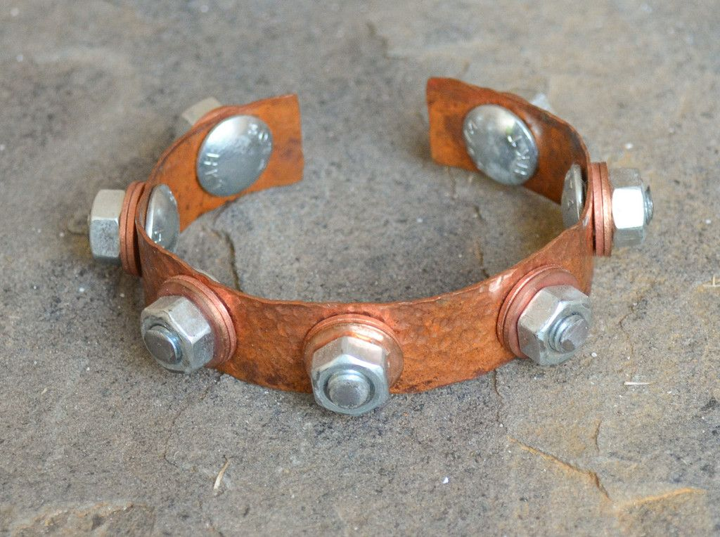 Stainless Steel Copper Cuff
