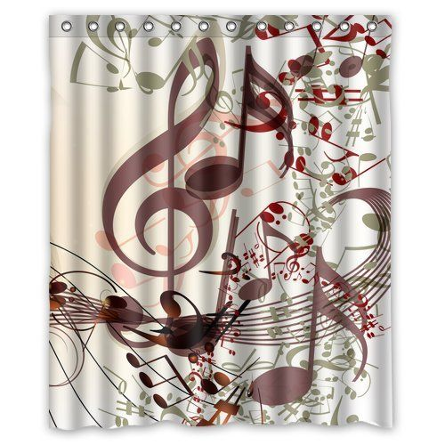 Personalized Lovely Melody Music Note Machine Washable Super Soft
