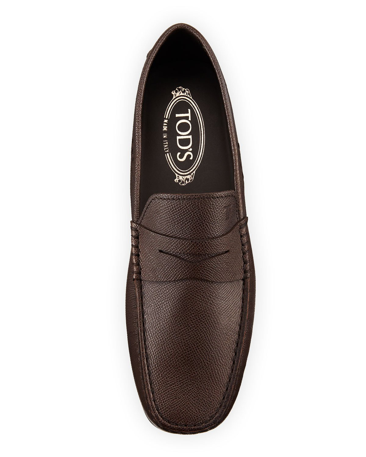 169ed69143 Tod s Men s City Gommini Leather Penny Loafer