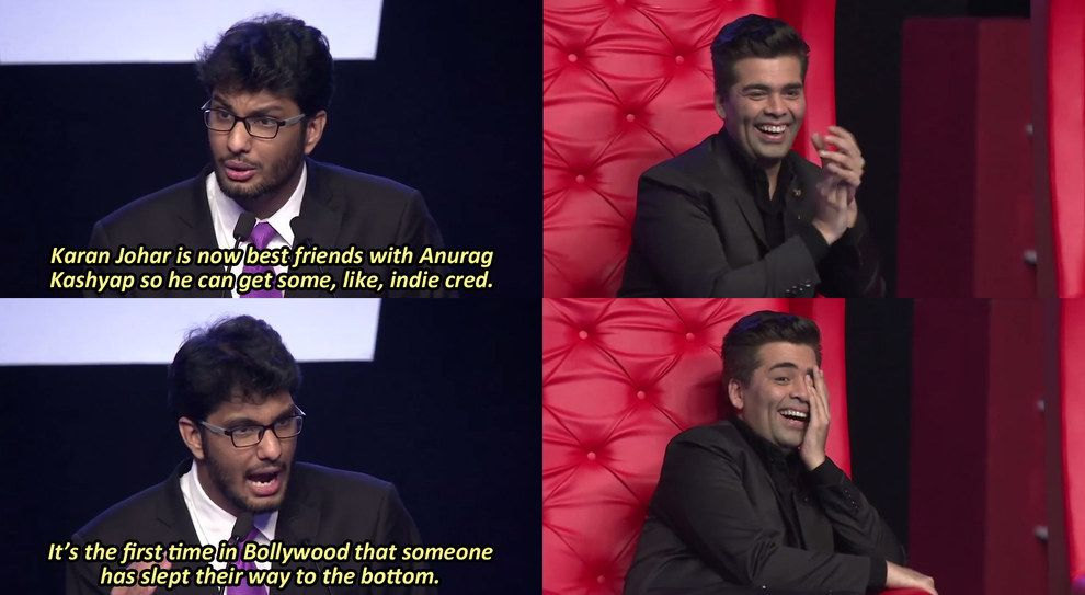 It S Been Two Years Since Aib S Controversial Roast Enjoy These 15 Wild Jokes From It Comedy Scenes All India Bakchod Indie