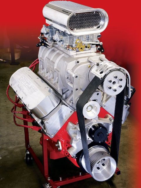 Blown Big Block Chevy Engine Build Photo 1 | CARS-THE HEART OF THE