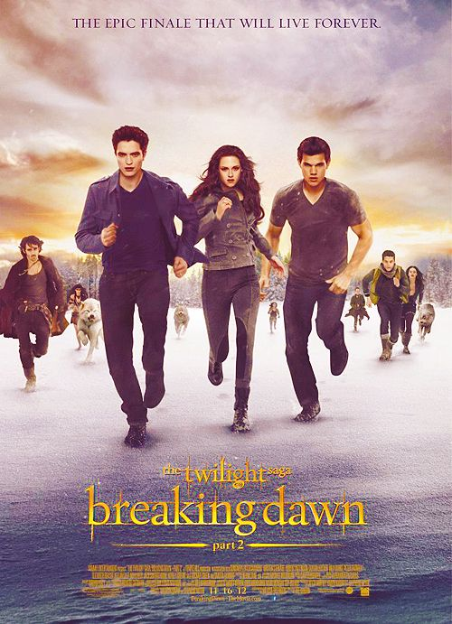 Final Breaking Dawn Part 2 poster