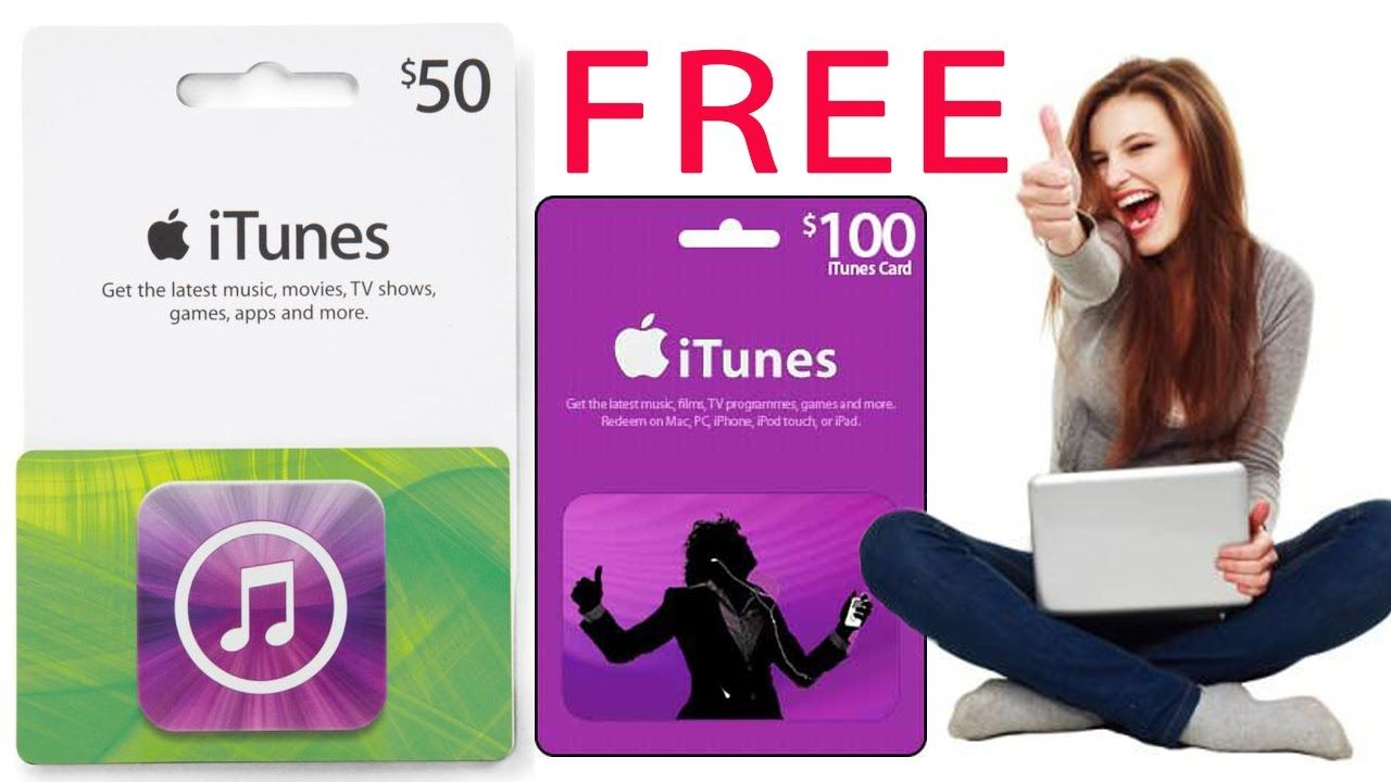 How to Get iTunes Gift Card Code Free to Redeem in iTunes