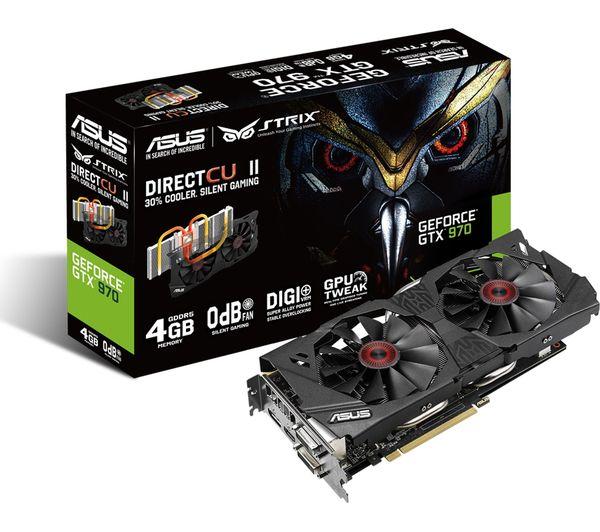 ASUS STRIX GeForce GTX 970 Graphics Card   Hardware ...