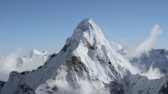 The aerial cinema experts at Teton Gravity Research release the first ultra HD footage of the Himalayas shot from above 20,000 ft. with the GSS C520 system, the most advanced gyro-stabilized camera system in the world. Filmed from a helicopter with a crew flying from Kathmandu at 4,600 ft. up to 24,000 ft. on supplemental oxygen, these are some of the most stable, crisp, clear aerial shots of these mountains ever released, which include Mt. Everest, Ama Dablam, and Lhotse.  Sound design ...