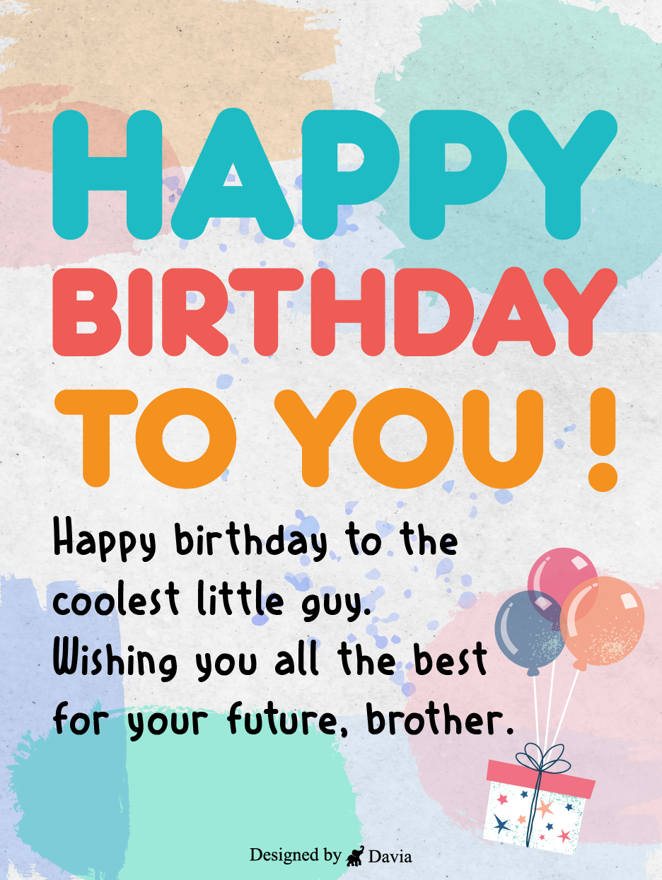 All The Best Bro Happy Birthday Brother Cards Birthday Greeting Cards By Davia Birthday Cards For Brother Birthday Greeting Cards Happy Birthday Brother