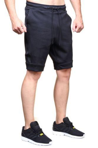 buy popular 0f135 18772 NWT NIKE SPORTSWEAR TECH FLEECE SHORT Triple Black Zipper 805160-010 SZ L  Clothing, Shoes   Accessories Men s Clothing Athletic Apparel  nike  jordan   shoes ...
