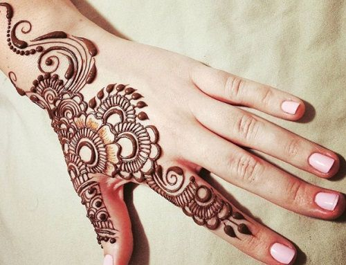 Mehndi Hands Designs : Latest khaleeji mehendi designs in trend