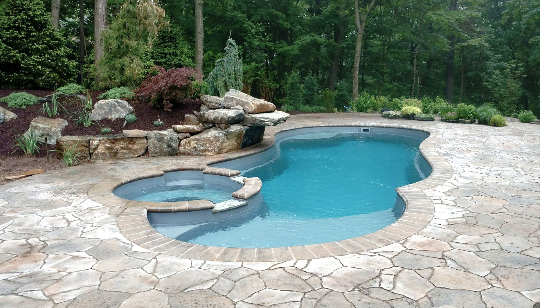 The allure leisure pools usa in 2019 backyard pool for Pool design usa