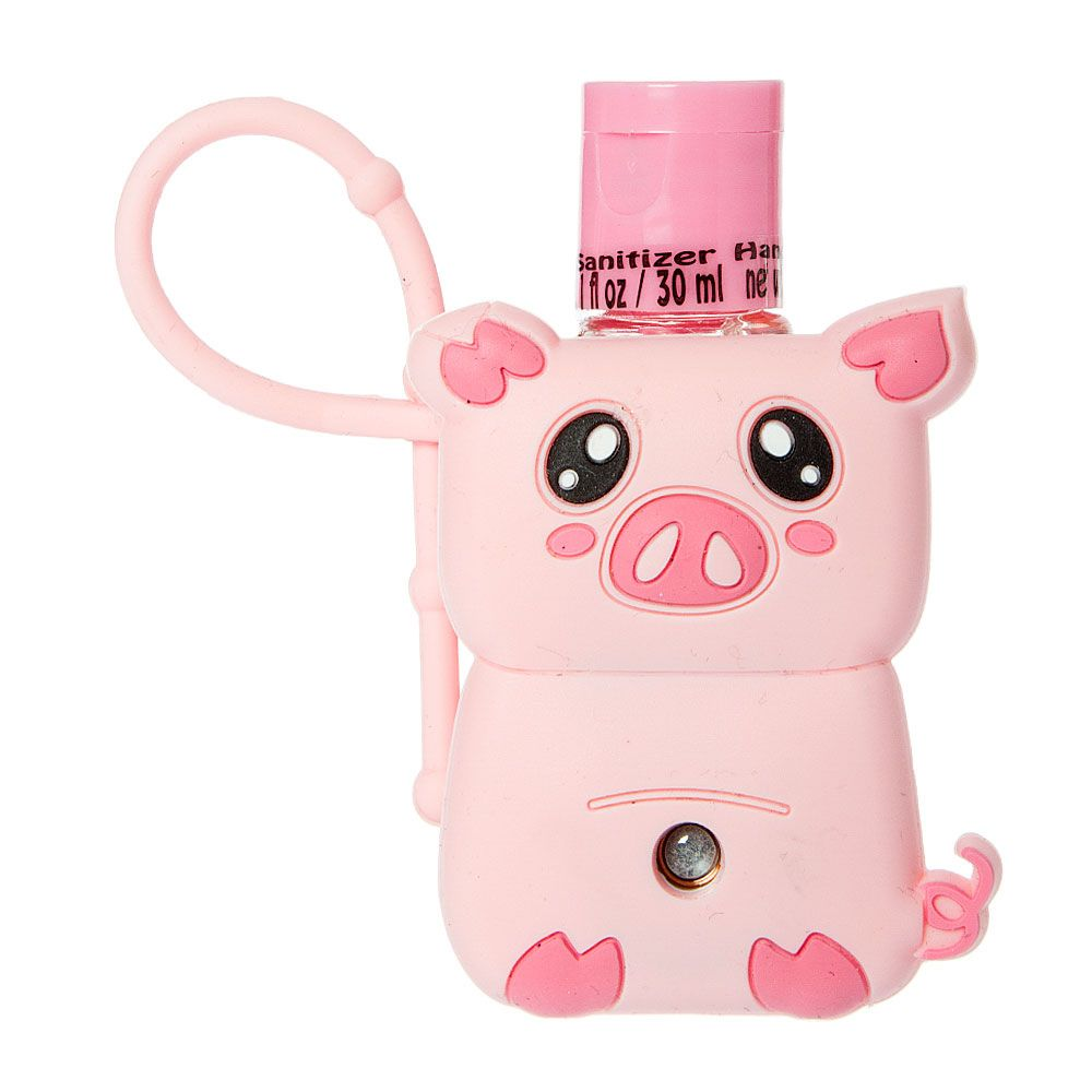 P Keep Hands Germ Free On The Go With This Fun Pig Hand Sanitizer