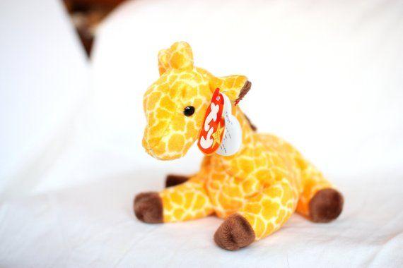 953fa266a2e Original Beanie Babies Twigs the Giraffe Ty Beanie Baby Mint Condition Beanie  Babies Collectible Beanie Babies Twigs Plush Stuffed Toy Kids