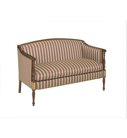Wondrous Sheraton Loveseat From The James River Collection By Hickory Gmtry Best Dining Table And Chair Ideas Images Gmtryco