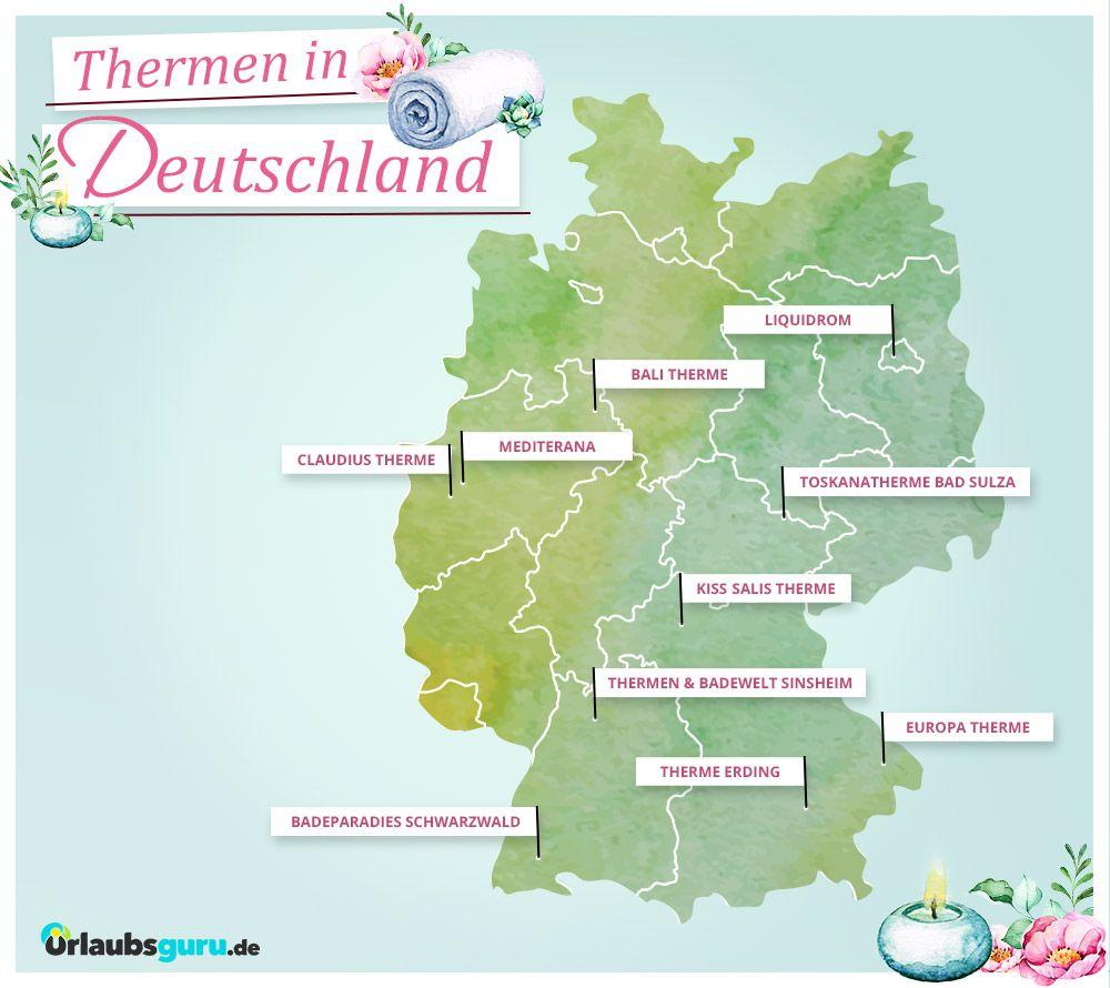 top 10 thermen in deutschland wellnessurlaub pinterest. Black Bedroom Furniture Sets. Home Design Ideas