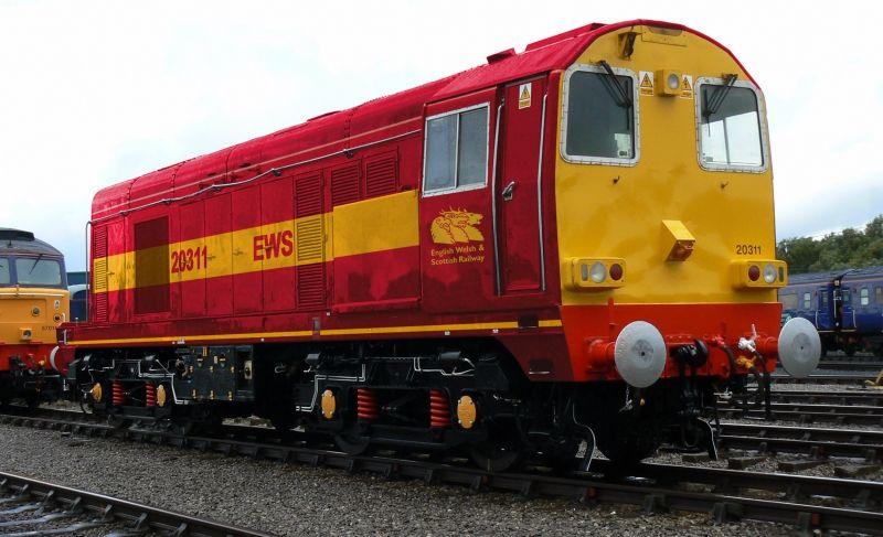 EWS class 20 - Alternative Railways - Galleries - RMweb