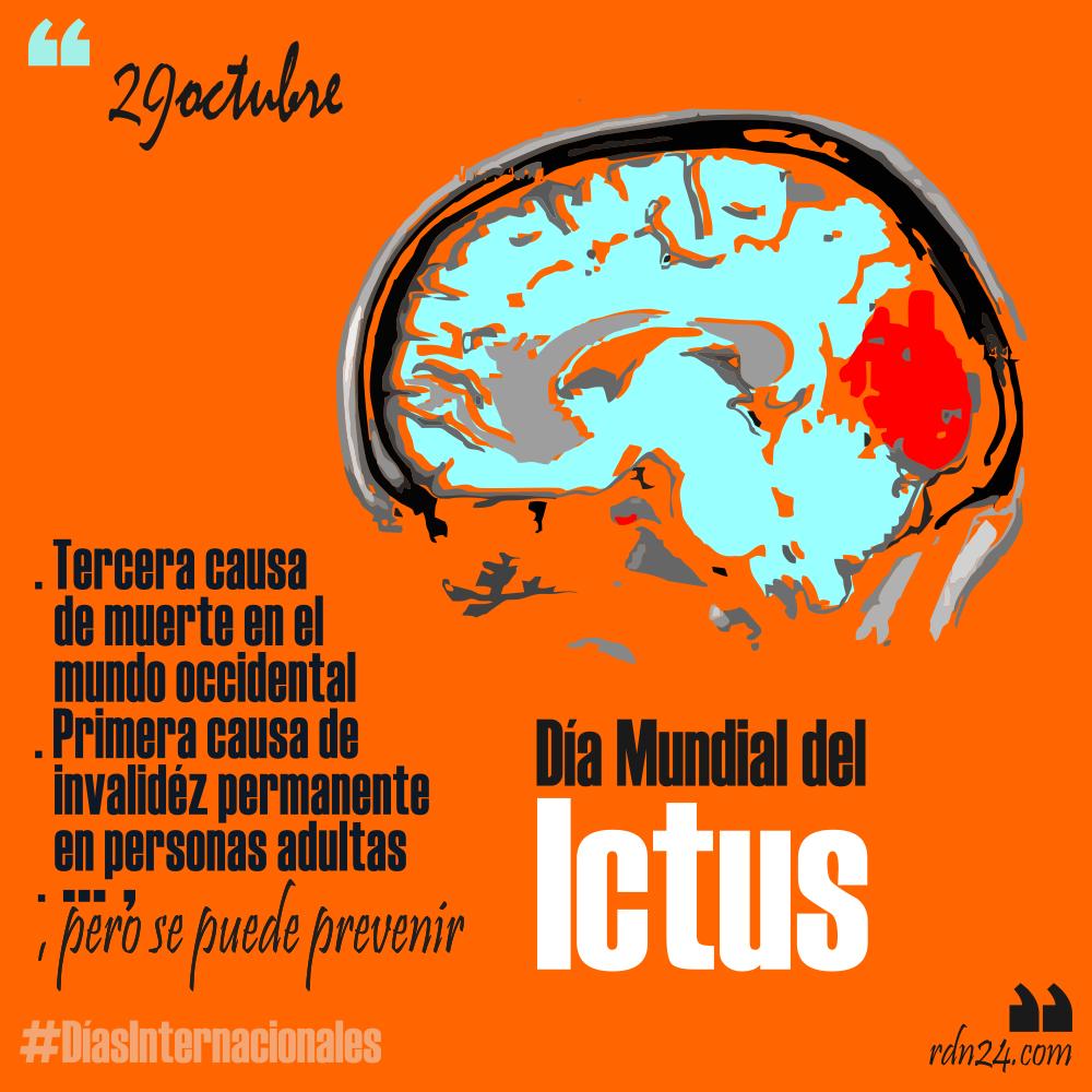 Fechas Talleres Dulces De Octubre: 29 De Octubre: Día Mundial Del Ictus #DíasInternacionales