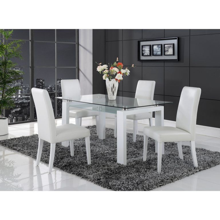 Wood Glass Top Dining Room Table Layjao Furniture Dining Table
