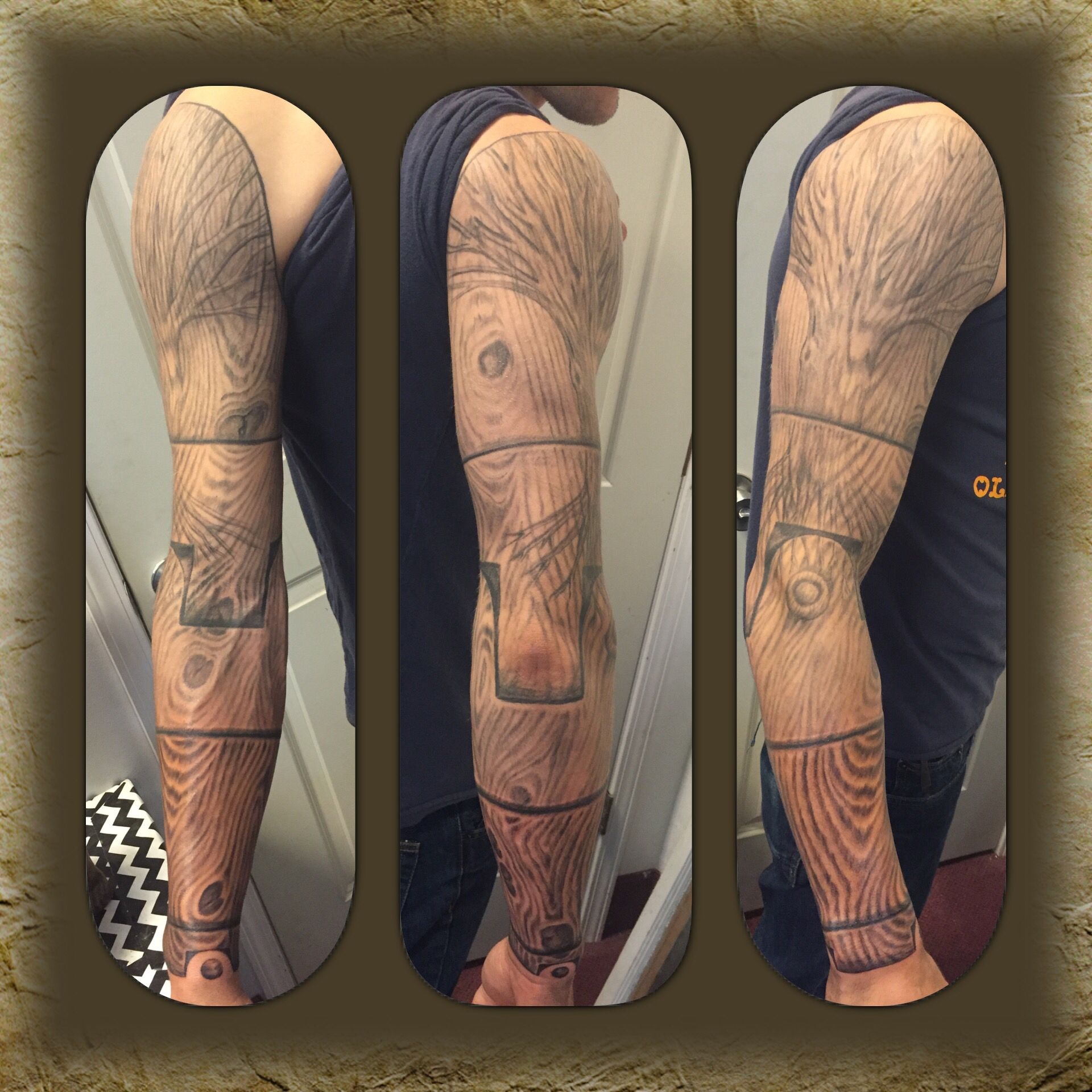 A woodworker's sleeve, by Travis Ink tattoo, Tattoos