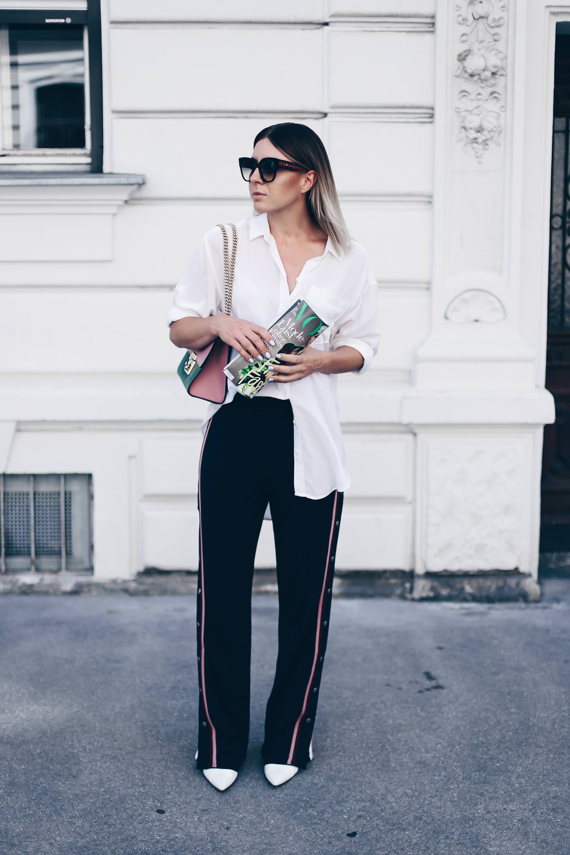 How to wear Track Pants? Outfit Idee + Styling Tipps