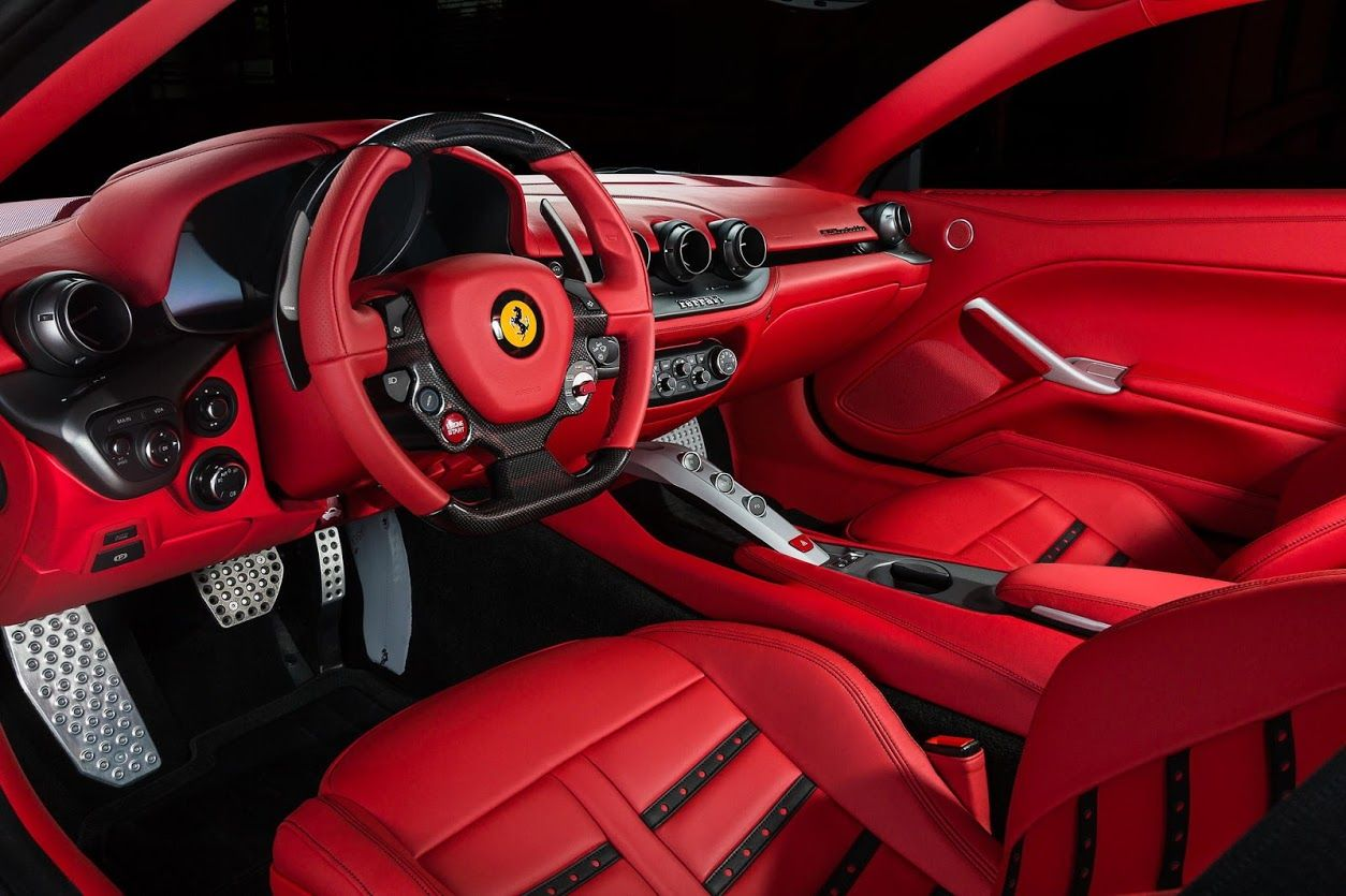 Ferrari F12 , Full Red Interior