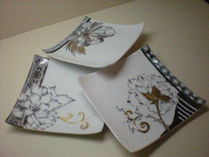 Vaisselle Porcelaine Moderne #15: Assiettes Modernes