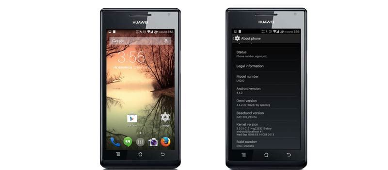 How To Install Android 4 4 2 KitKat OmniROM on Huawei Ascend