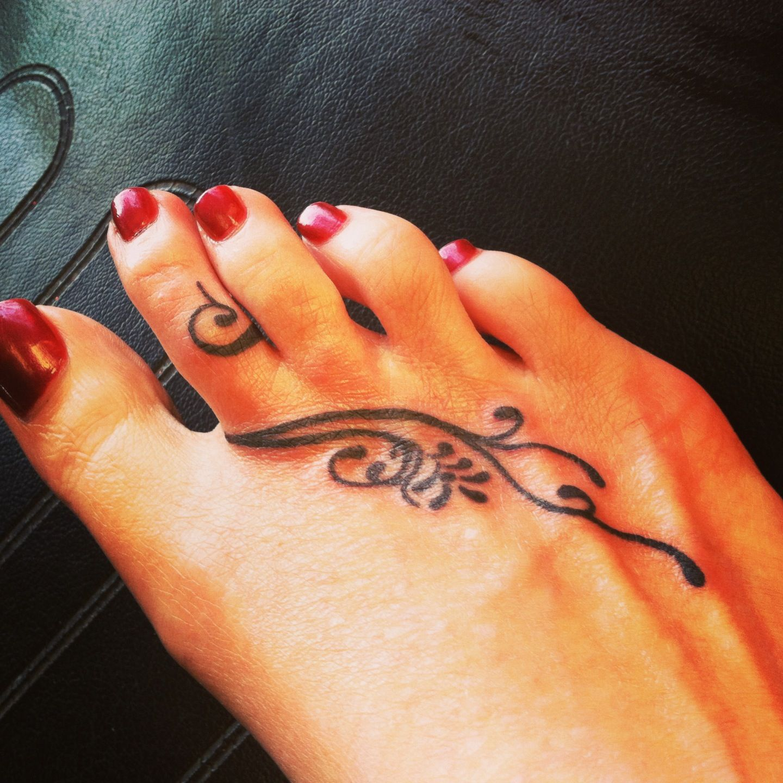 Cute tattoo ideas for the foot foot tattoo  but with words  tattoos  pinterest  tattoo tatting