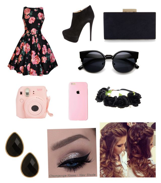 """""""Fancy flowers"""" by kileighgrace ❤ liked on Polyvore featuring Giuseppe Zanotti, Monsoon, Natasha Accessories, women's clothing, women's fashion, women, female, woman, misses and juniors"""
