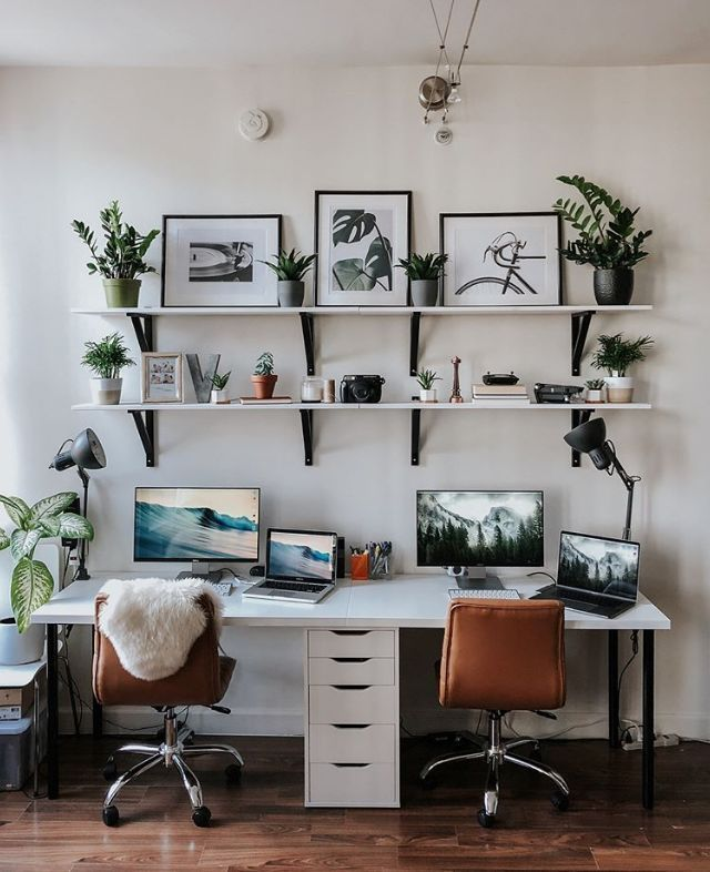 11 Creative Workspaces That Will Make You Finally Clean Your Office