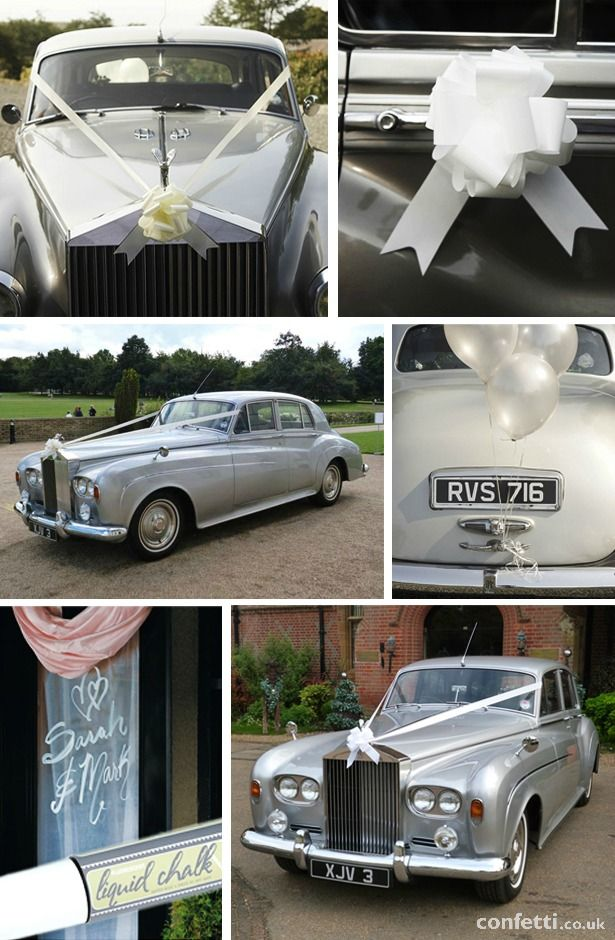 7 Ways To Pull Off A Classic Wedding Car Decoration Pinterest