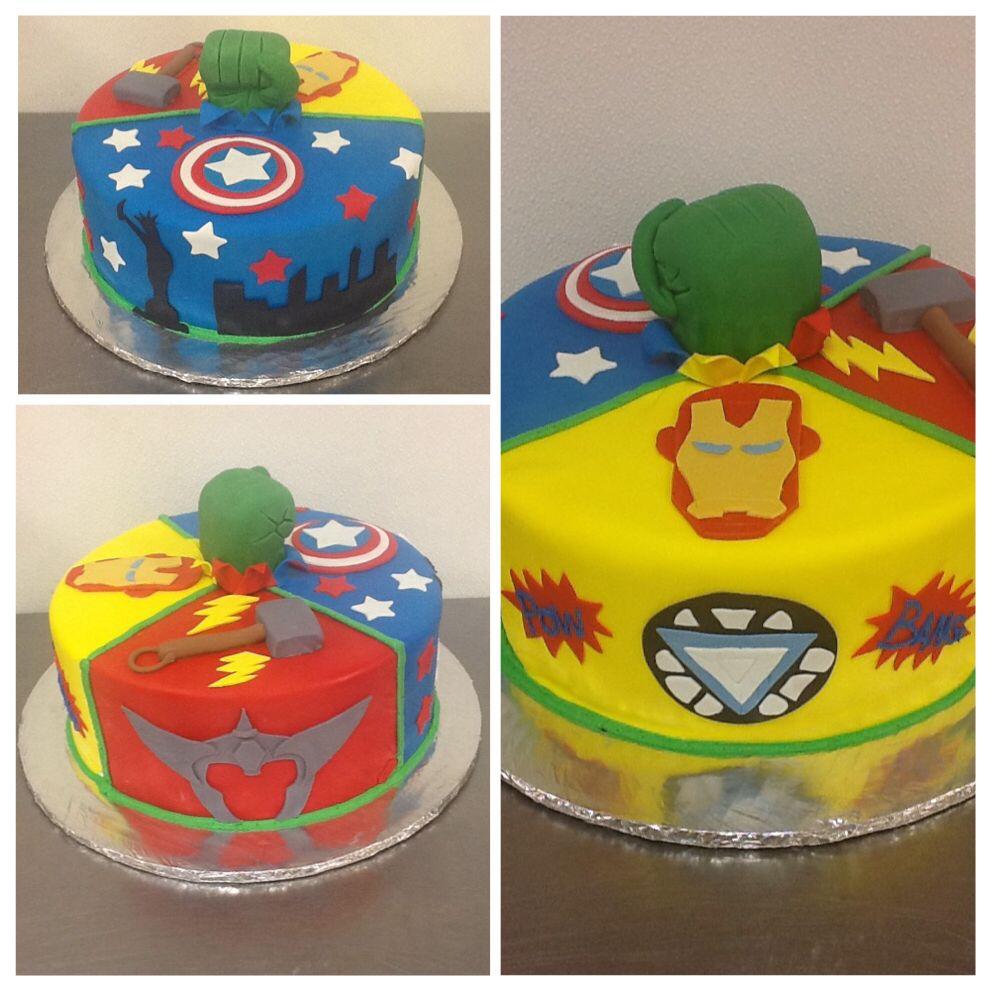 Avengers assemble birthday cake cake birthday parties