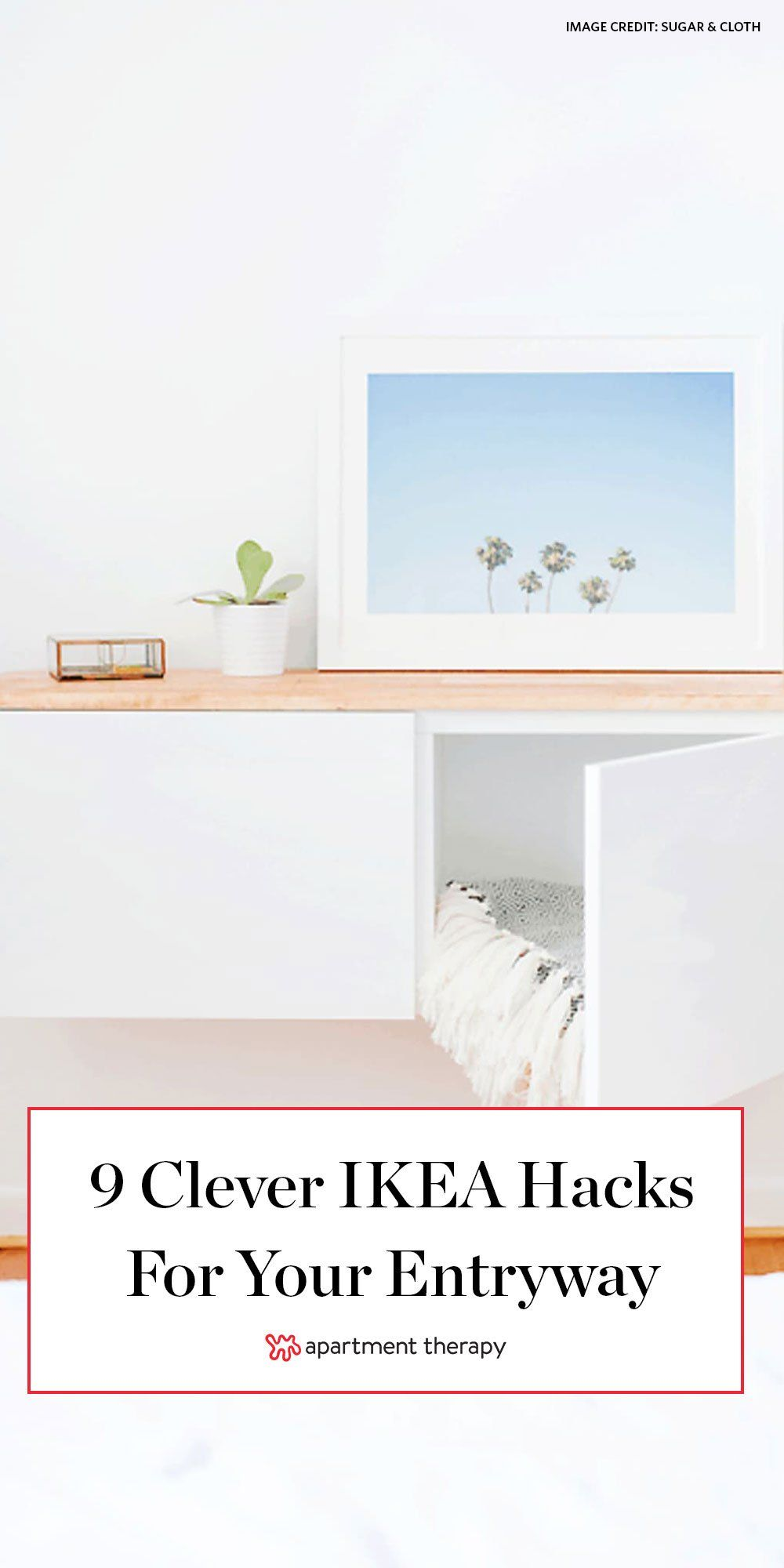 9 ikea hacks for your entryway you ll wish you knew sooner on wall hacks id=86725